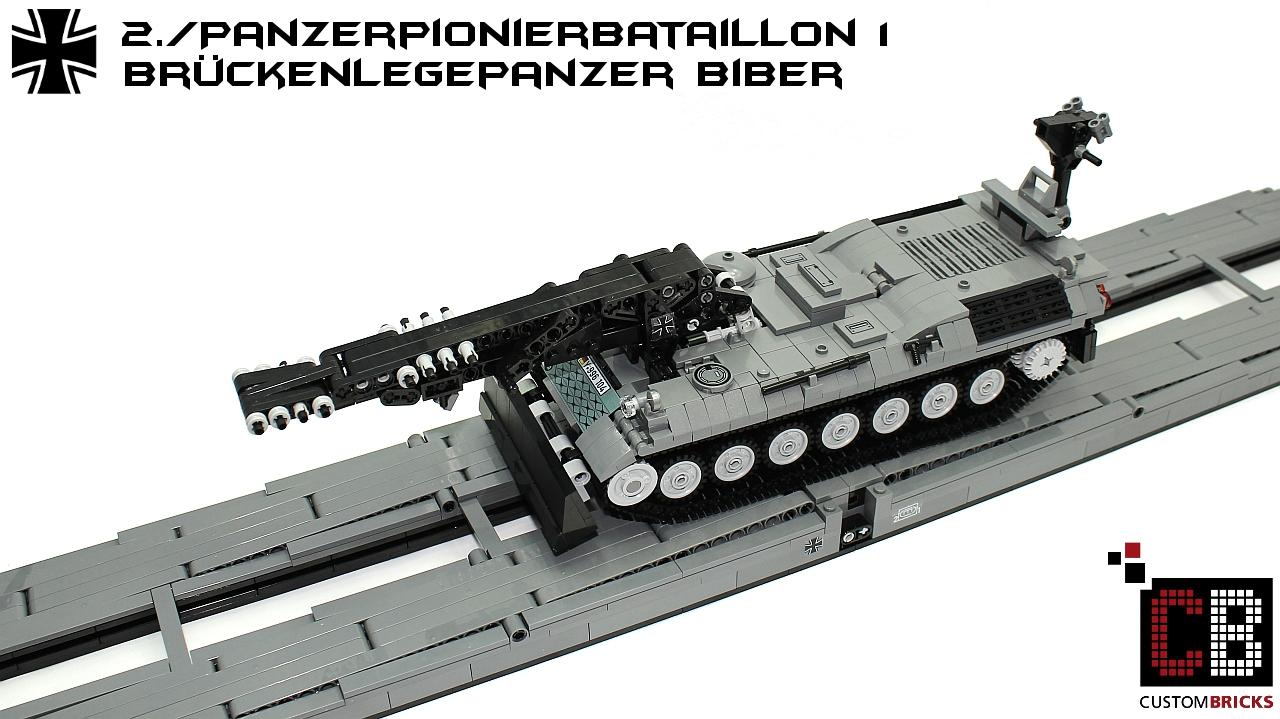 Lego Custom Bundeswehr Pionier Panzer Biber CB09