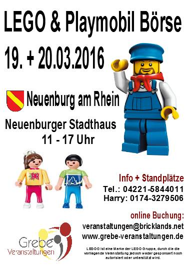 LEGO Börse Neuenburg am Rhein